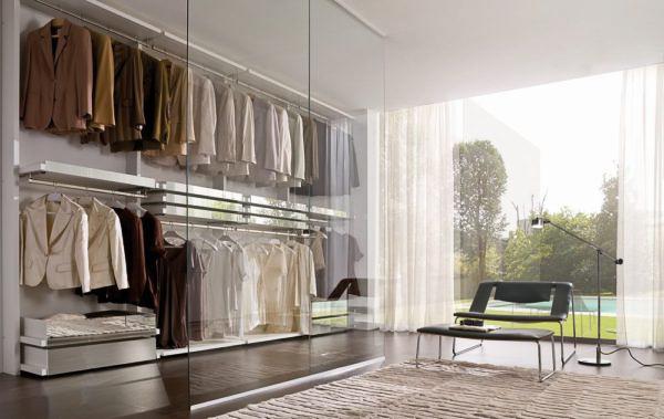 Minimal Laccato Bianco e specchi – La Falegnami